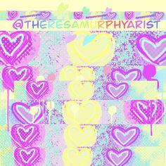 Hearts everywhere Hearts, Neon Signs, Artwork, Artist, Work Of Art, Artists, Heart