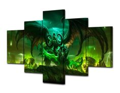 Style Your Home Today With This Amazing 5 Panel Game Anime Framed Canvas Wall Art For $99.00  Discover more canvas selection here http://www.octotreasures.com  If you want to create a customized canvas by printing your own pictures or photos, please contact us.