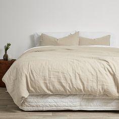 Linen Fusion Duvets and Pillowcases - Natural
