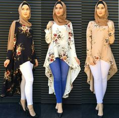 Muslim Abaya Dress Shirt Blouse Tops Print Flower Loose Style Plus Size Islamic Clothing Middle East Long Robes Jubah Moroccan. Subcategory: World Apparel. Muslim Fashion, Modest Fashion, Hijab Fashion, Fashion Outfits, Fashion Muslimah, Islamic Fashion, Fashion Boots, Hijab Outfit, Hijab Stile