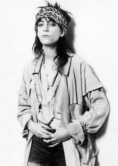Patti Smith - American singer-songwriter, poet and visual artist