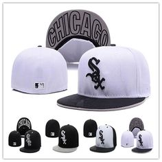 81fed2f27d8 Cheap White Sox Fitted Caps Baseball Cap Embroidered Team Size Flat Brim Hat  White Sox Baseball Cap Size Baseball Cap White Sox Fitted Caps Flat Brim Hat  ...