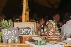 an epic festival wedding in Derbyshire | uk wedding blog