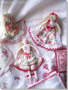 ©Marimerveille - poupées de chiffon bohèmes ✏✏✏✏✏✏✏✏✏✏✏✏✏✏✏✏ IDEE CADEAU   ☞…