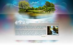 spiritual tours web design