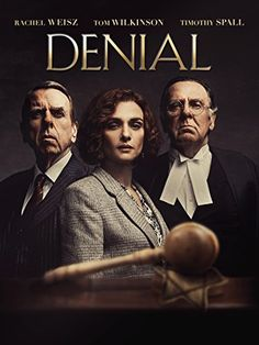 Deborah E. Lipstadt (Rachel Weisz) battles for historical truth when renowned Holocaust denier David Irving (Timothy Spall) sues her for libel. Also starring Tom Wilkinson. Latest Movies, New Movies, Movies Online, Movies And Tv Shows, Academy Award Winners, Oscar Winners, Universal Studios, Tom Wilkinson, Amazon Video