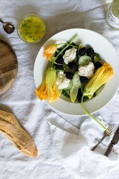Squash Blossom and Garlic Frittata | Recipe | Squash Blossom, Blossoms ...