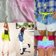 Ombre outfits
