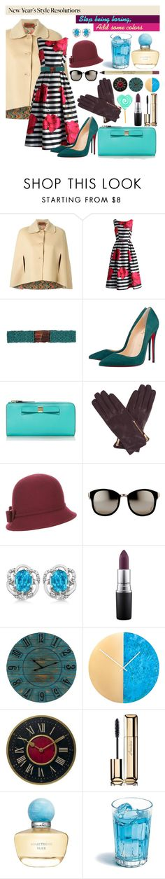 """""""untitled #15"""" by alueinwonderland on Polyvore featuring Missoni, Chicwish, Cocobelle, Christian Louboutin, Kate Spade, Oasis, Monsoon, Linda Farrow, Allurez and MAC Cosmetics"""