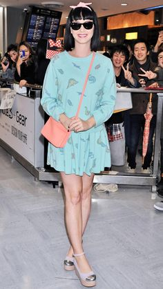Jet-Set in Style: 64 Celebrity-Inspired Outfits to Wear on a Plane - Katy Perry from #InStyle
