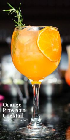 This prosecco cocktail is made with a splash of orange juice, Grand Mariner and orange bitters. It's delicious and refreshing and perfect for brunch. #Prosecco #Proseccococktails #Proseccodrinks #Proseccotime #Drinks #Cocktails #CocktailHour #CocktailOfTheDay #Craftcocktails #Proseccolovers #Winelovers #Masterofmixes #Barista #Champagnelover #DeliciousDrinks #Wine #Wineoclock #Mixology