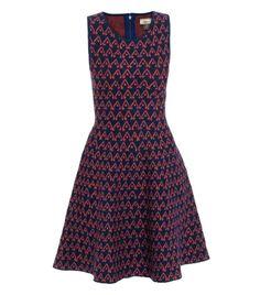Jacquard knit dress  by Issa #Matchesfashion