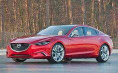 Mazda Takeri concept ...nice (much overdue) change to 6 model ;)