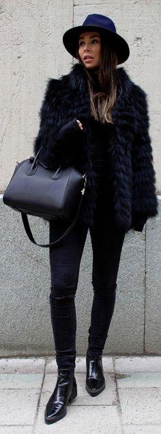 Fur coat from Hollies / Fashion By Johanna Olsson