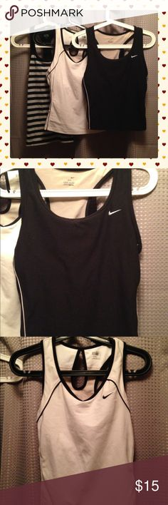 Nike & Champion Racerback Workout Tops Large All Guc Size Large Nike Tops Tank Tops