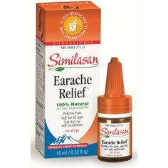Similasan, Earache Relief Ear Drops 10 ml