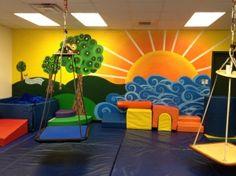 El Mural de pared nos sirve para crear profundidad y color a la pared.  Con una imagen de gran tamaño tenemos un espacio alegre y divertido