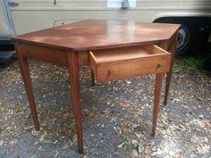 Ethan Allen Birchcraft by Baumitter Corner Desk - $155 (Plantation)