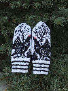 Fingerless Mittens, Knitting Socks, Mitten Gloves, Hand Knitting, Knitting Patterns, Norwegian Knitting, Mittens Pattern, Wrist Warmers, Tejidos