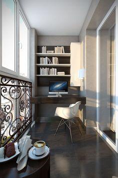 Фотография - Балкон и терраса, стиль: Современный | InMyRoom.ru