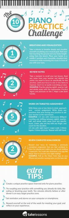 A 10-Minute Piano Practice Challenge for Busy Students http://takelessons.com/blog/10-minute-piano-exercise-z06?utm_source=social&utm_medium=blog&utm_campaign=pinterest