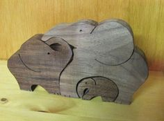 Scroll Saw Elephants!