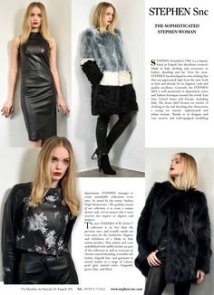 """""""The sophisticated Stephen woman"""" , the #article dedicated to our #brand in @buyermagazine .  Go visit our official website with the #shop , link in bio."""
