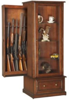 The Wood Gun Cabinet: Beauty, Style And Practicality!