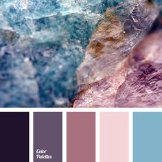 almost black, Blue Color Palettes, bright blue, color matching, color of hydrangea, color of mineral, color of purple orchids, color of violets, color solution for home, Cyan Color Palettes, dark purple, design palettes, lilac, shades of magenta, shades of purple.