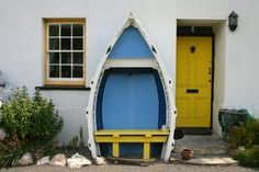 Do you have an old boat laying around that you can add to a Create-A-Bench?