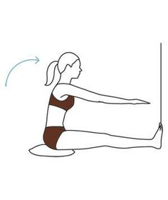 Exercise for Sore Feet: Straight-Leg Stretch