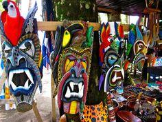 Boruca Indian Culture - Arts and Crafts
