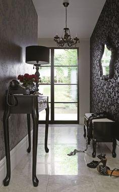 New Gothic Hallway #home #interiors