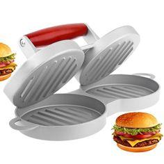 Burger Press Non-Stick Hamburger Patty Maker Aluminum Alloy Burger ...
