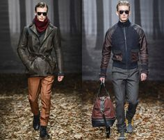Trussardi 2013-2014 Fall Winter Mens Runway Collection