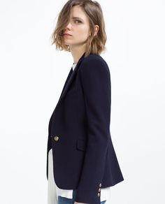Image 2 of JACKET WITH BUTTON from Zara