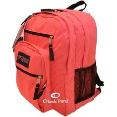 coral+big+student+backpack | Jansport Big Student Backpack in Pink Prep TDN79EZ for $45.00 at ...