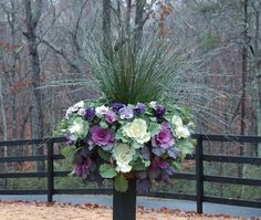 Container Gardening Ideas Window Boxes Can be Beautiful in All Seasons by Daggett Builders, Inc - By Daggett Builders, Inc - Rockland - Camden - Knox - Courier-Gazette - Camden Herald Basket Planters, Fall Planters, Outdoor Planters, Garden Planters, Planter Ideas, Hanging Baskets, Indoor Outdoor, Ferns Garden, Outdoor Sheds