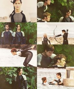 Pics of the beginning of the 75th annual hunger games!!!