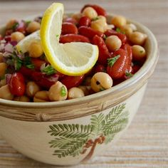 """Middle Eastern Bean Salad 
