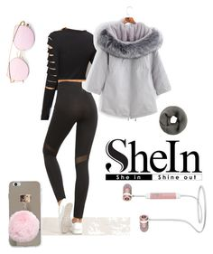 """Shein leggings"" by chiara-galante on Polyvore"