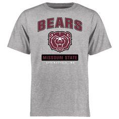 Missouri State University Bears Big & Tall Campus Icon T-Shirt - Ash