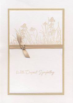 STAMPS: Inkadinkado Meadow, Hero Arts sentiment Card Making Inspiration, Making Ideas, Making Greeting Cards, Get Well Cards, Sympathy Cards, Love Cards, Scrapbook Cards, Homemade Cards, Stampin Up Cards