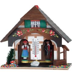 Black Forest Souvenir Clocks & Weather Houses Weather house by Trenkle Uhren Family Tent, Family Camping, Camping Essentials, Camping Hacks, Camping Survival, Camping Gear, German Decor, Truck Bed Camping, Weather Instruments