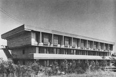 Simon Fraser University, Burnaby, British Columbia, Canada, 1965 (Erickson-Massey Architects)