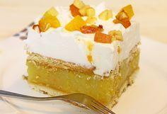 Slatko osvježenje: Ledene kocke s breskvama – Aura Serbian Recipes, Little Cakes, Vanilla Cake, Cake Recipes, Cheesecake, Yummy Food, Cookies, Baking, Cooking Recipes