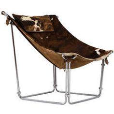 Kwok Hoi Chan buffalo lounge chair