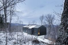Dwell - Amazing Cantilevered Home in the Mountains