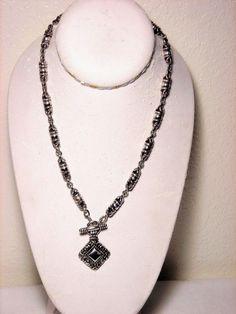 Brighton Silver Tone Toggle Chain Necklace #Brighton #Chain