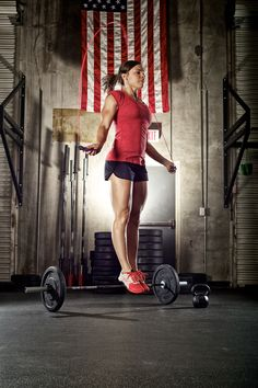 I adore Julie Foucher and i love crossfit
